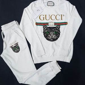 tracksuit gucci white